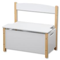 Kinder-Sitzbank, weiß