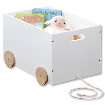 Spielzeugwagen, weiß