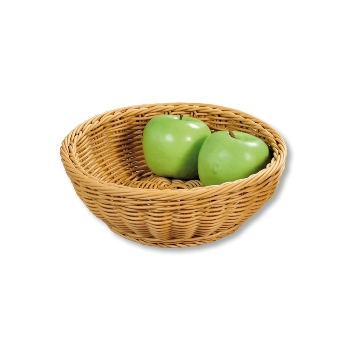 Brot- und Obstkorb, natur