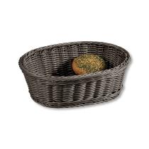 Brot- und Obstkorb, grau