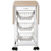 Küchenwagen, ausklappbar
