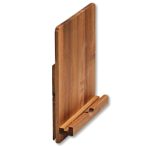 Tablet- und Kochbuchständer, Akazienholz