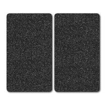 "Herdabdeckplatte 2er Set - ""Granit"""