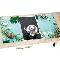 "Herdabdeckplatte 2er Set - ""Tropical Summer"""