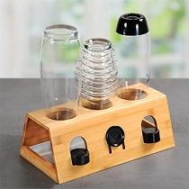 Flaschenhalter, Bambus