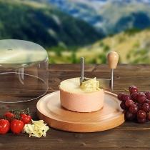 Käsehobel mit Haube, Buche