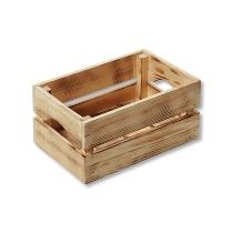 Aufbewahrungs- & Deko-Kiste, Kiefer - geflammt