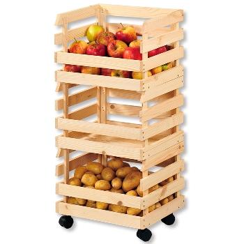 Kartoffel- und Obsthorde