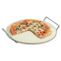 Pizzastein mit zwei Tragegriffen